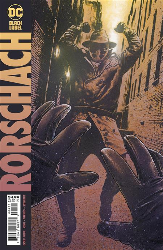 Rorschach #4 (Travis Charest Cover)