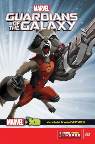 Marvel Universe: Guardians of the Galaxy #3