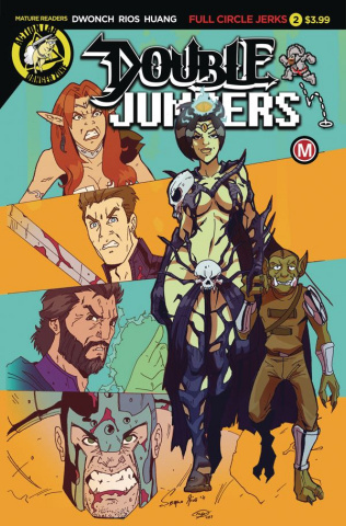Double Jumpers: Full Circle Jerks #2 (Rios Cover)
