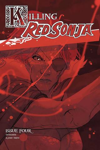 Killing Red Sonja #4 (20 Copy Ward Color Cover)