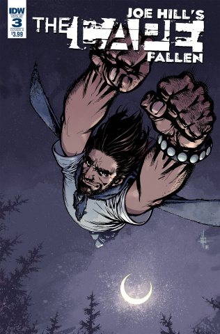 The Cape: Fallen #3 (Howard Cover)
