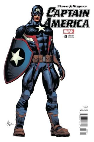 Captain America: Steve Rogers #8 (Deodato Teaser Cover)