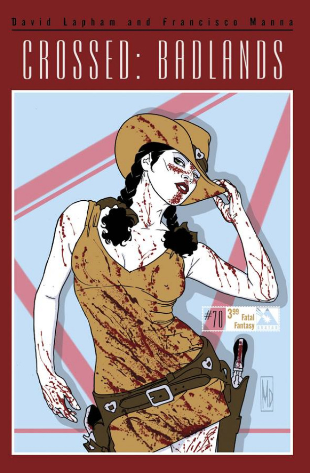 Crossed: Badlands #70 (Fatal Fantasy Cover)