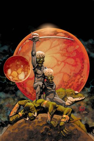 Warlord of Mars Attacks #4 (30 Copy Johnson Virgin Cover)