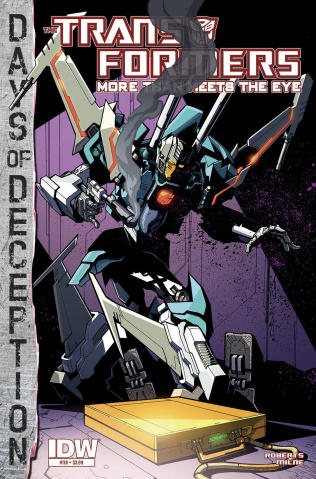 The Transformers: More Than Meets the Eye #38: Days of Deception