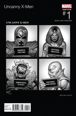 Uncanny X-Men #1 (Land Hip Hop Cover)