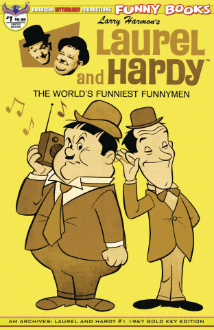 Laurel and Hardy #1 (1967 Retro Cover)