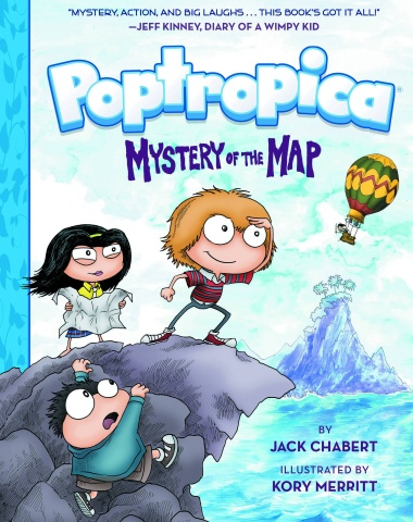 Poptropica Book 1: Mystery of the Map