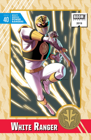 Mighty Morphin' Power Rangers #40 (20 Copy Anka Cover)