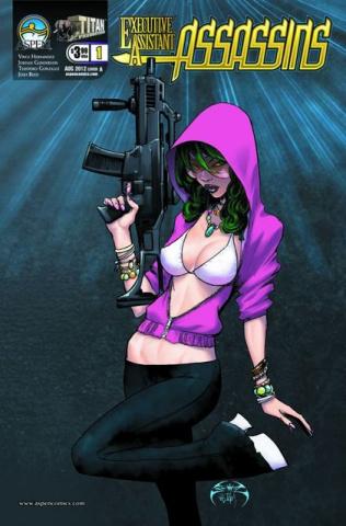 Executive Assistant: Assassins #1 (Benitez Cover)