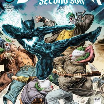 The Next Batman: Second Son #2 (Doug Braithwaite Cover)