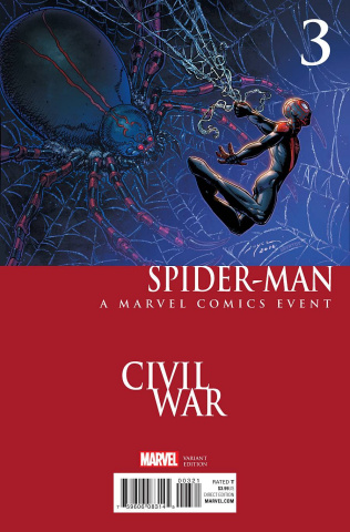Spider-Man #3 (Chin Civil War Cover)