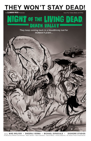 Night of the Living Dead: Death Valley #4 (Classic Cover)