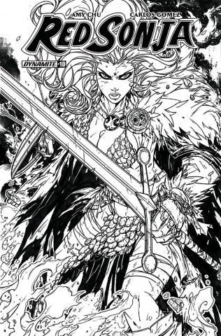 Red Sonja #10 (30 Copy Meyers B&W Cover)