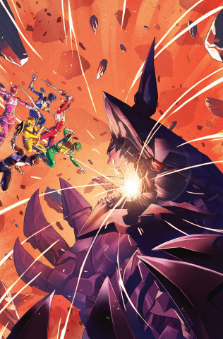 Mighty Morphin' Power Rangers #4