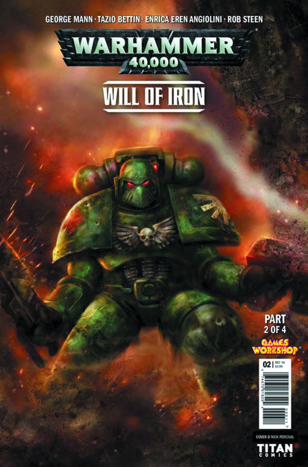 Warhammer 40,000: Will of Iron #2 (Percival Cover)