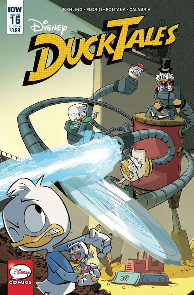 DuckTales #16 (Ghiglione & Stella Cover)