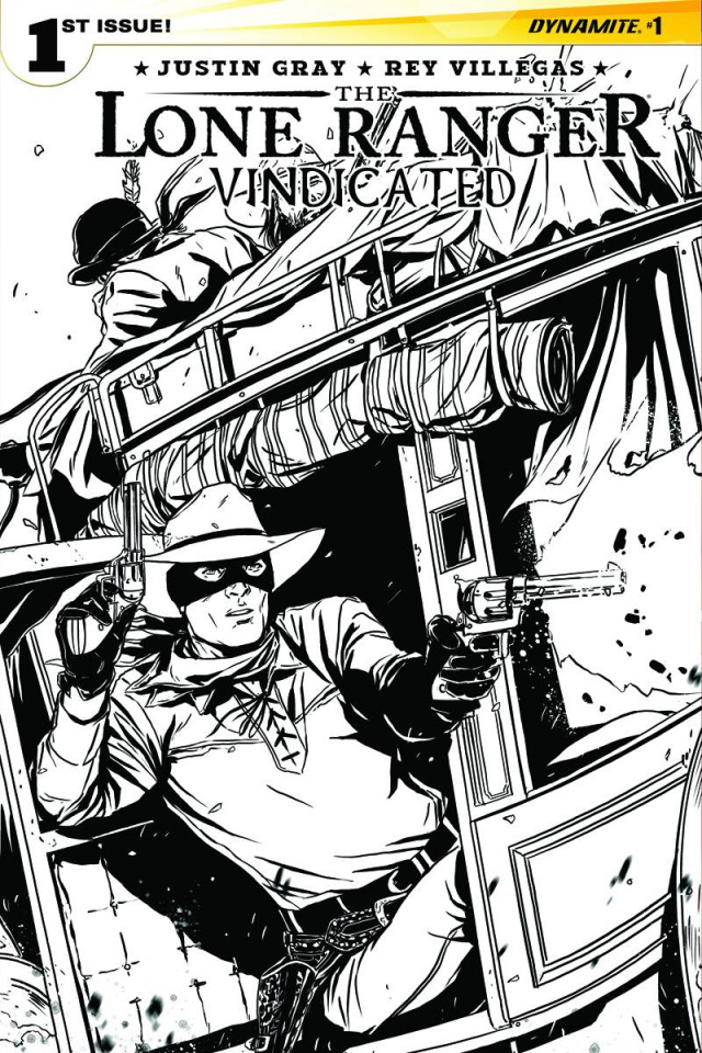 The Lone Ranger: Vindicated #1 (10 Copy Laming B&W Cover)