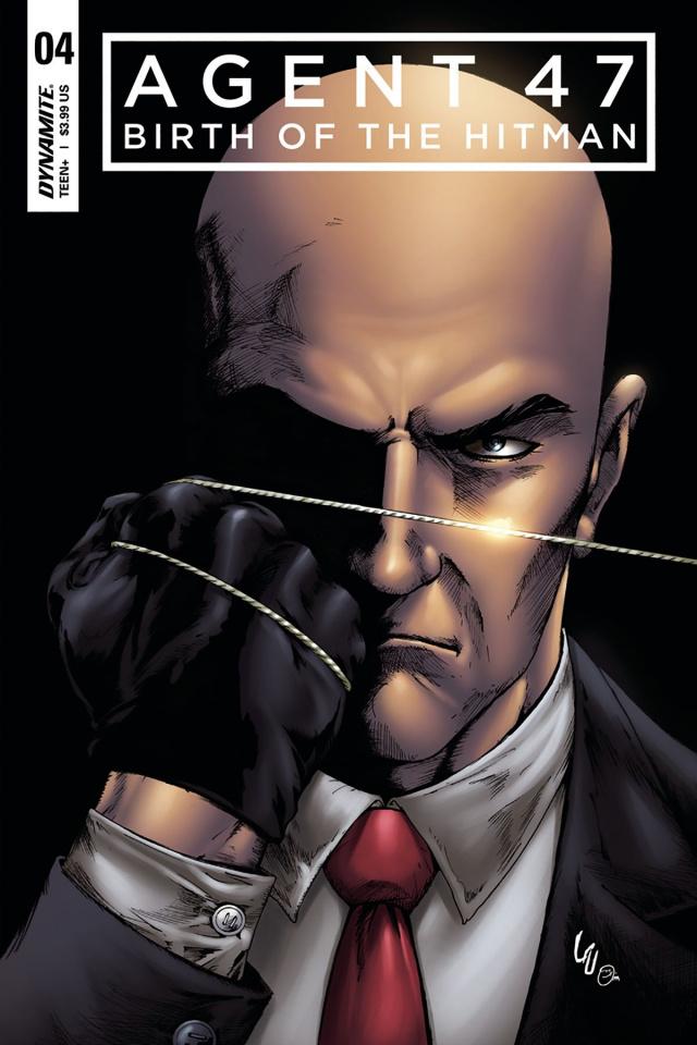 Agent 47: Birth of the Hitman #4 (Lau Cover)