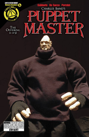 Puppet Master #1 (Pinhead Photo Cover)