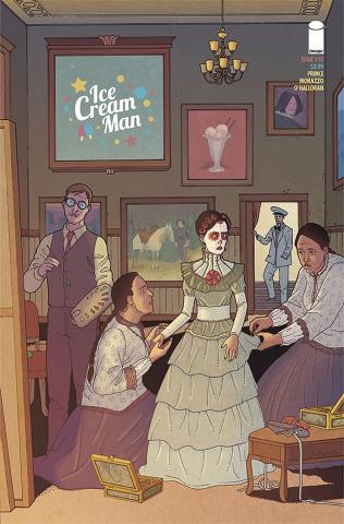 Ice Cream Man #10 (Morazzo & O'Halloran Cover)