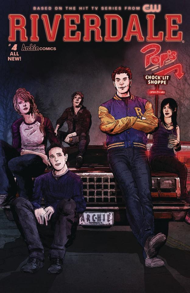 Riverdale #4 (T.Rex Cover)