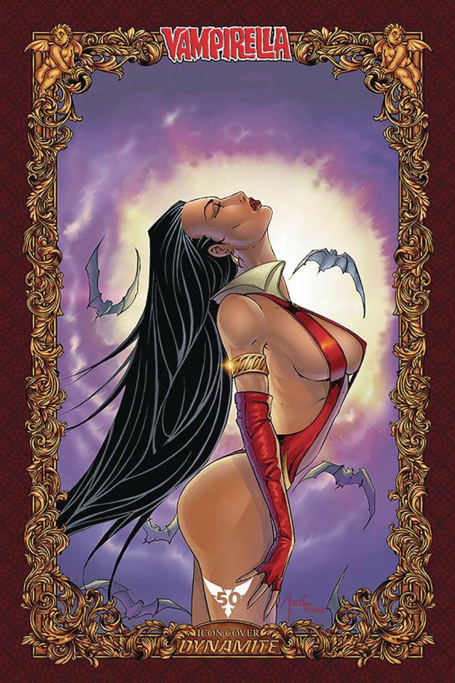 Vengeance of Vampirella #5 (60 Copy Tucci Icon Cover)