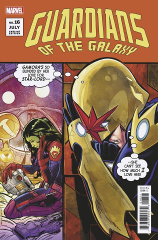 Guardians of the Galaxy #16 (Jimenez Cover)