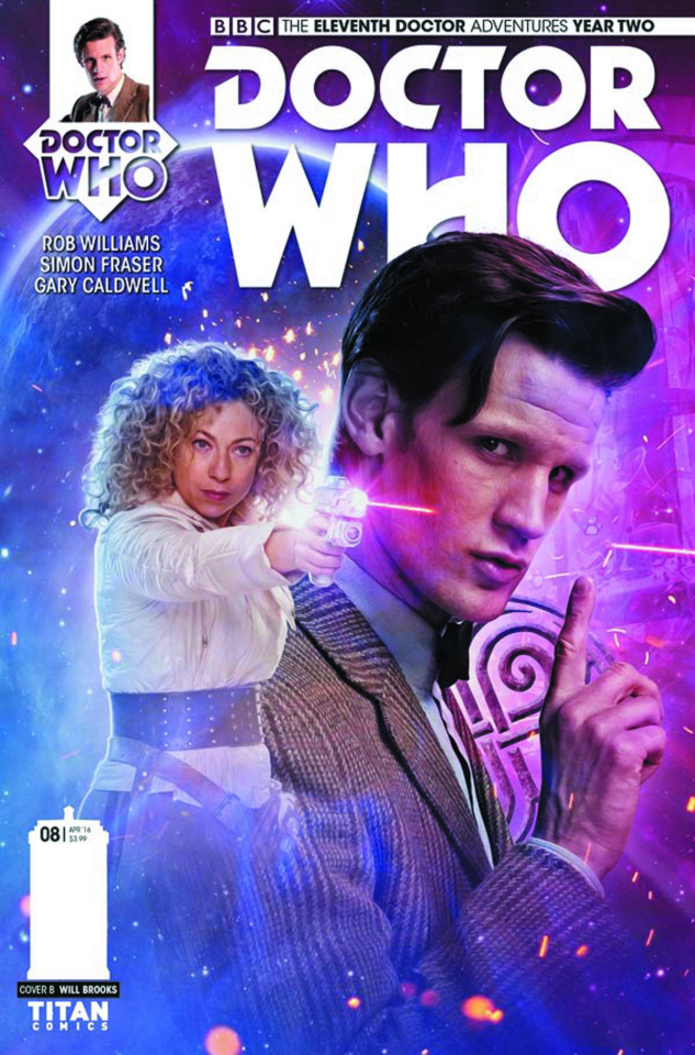 Doctor Who: New Adventures with the Eleventh Doctor, Year Two #8 (Photo Cover)