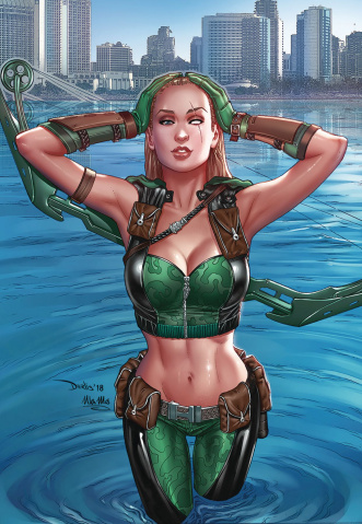 Robyn Hood: The Curse #6 (Santacruz Cover)