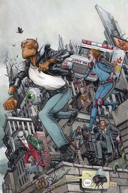 Doom Patrol #5 (Variant Cover)