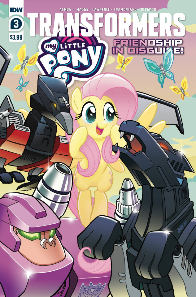 My Little Pony / The Transformers #3 (Fleecs Cover)