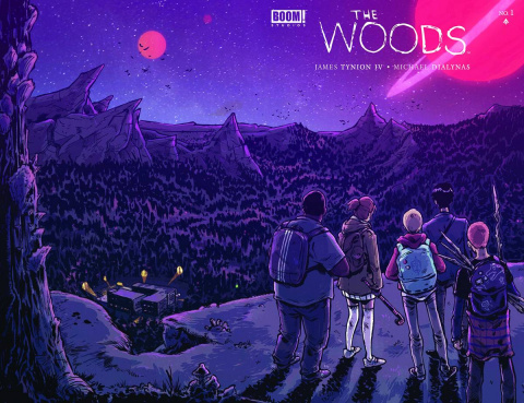 The Woods #1 (2nd Printing)