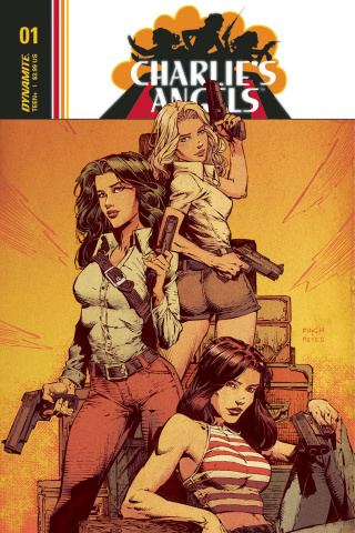 Charlie's Angels #1 (Finch Cover)