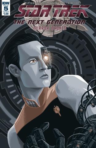 Star Trek: The Next Generation - Mirror Broken #5 (Caltsoudas Cover)