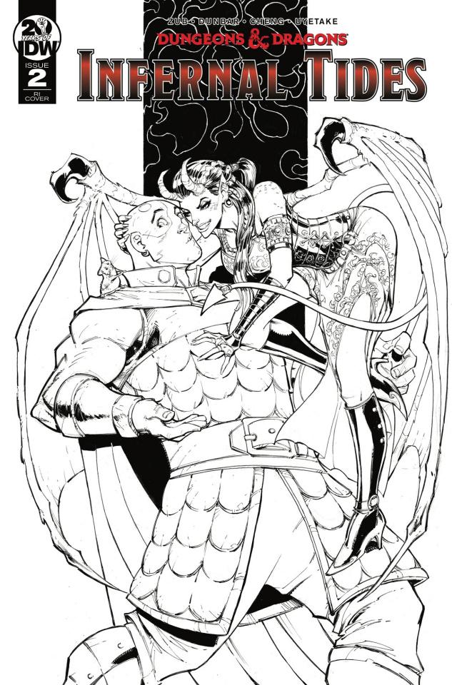 Dungeons & Dragons: Infernal Tides #2 (10 Copy Dunbar Cover)
