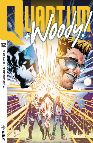 Quantum & Woody #12 (Ultra Foil Shaw Cover)