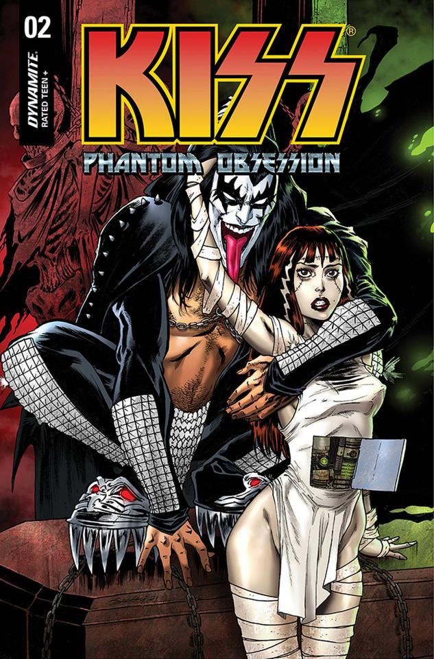 KISS: Phantom Obsession #2 (Seeley Cover)