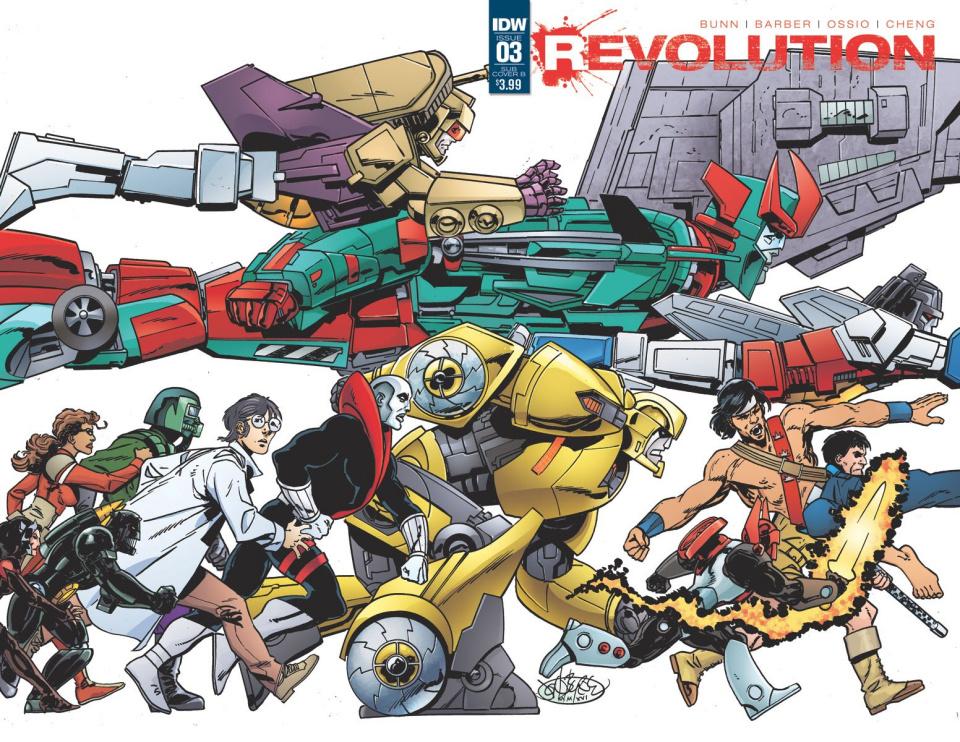 Revolution #3 (Subscription Cover)