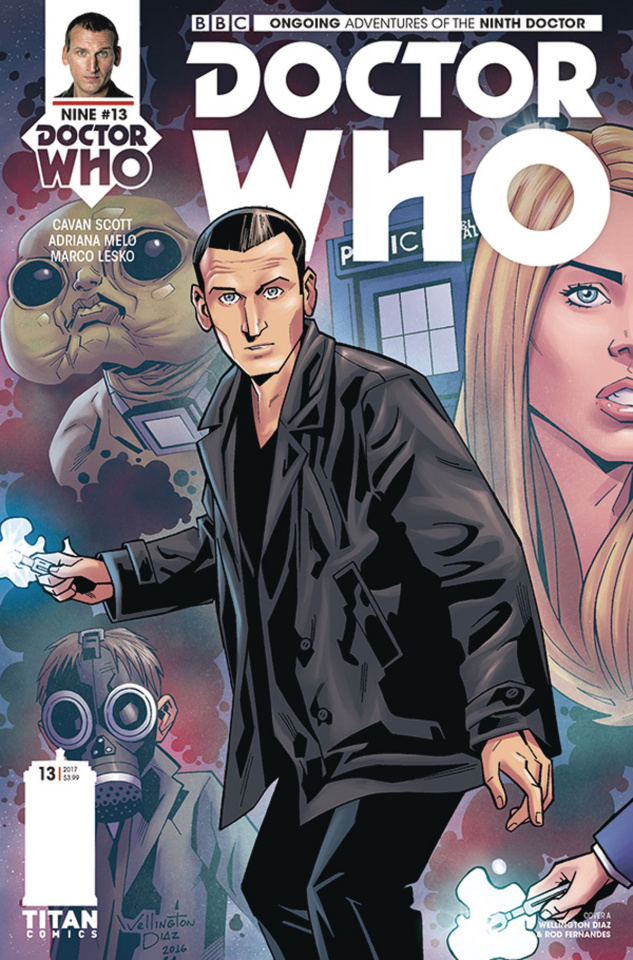 Doctor Who: New Adventures with the Ninth Doctor #13 (Alves Cover)