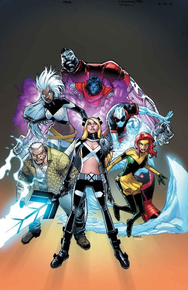 West Coast Avengers #4 (Uncanny X-Men Cover)