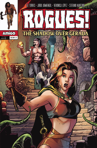 Rogues! The Shadow Over Gerada #1
