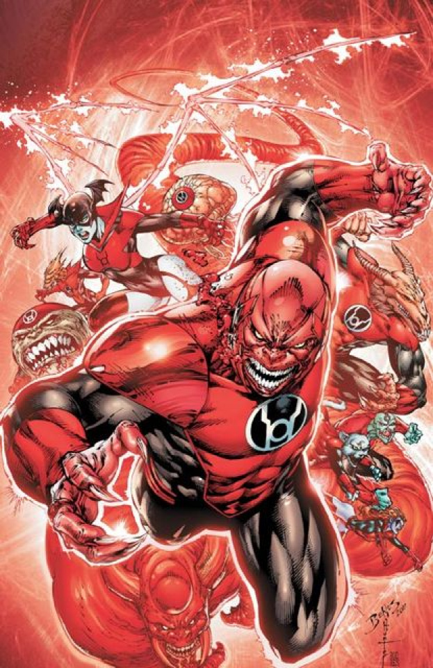 Red Lanterns #1 (2nd Printing)