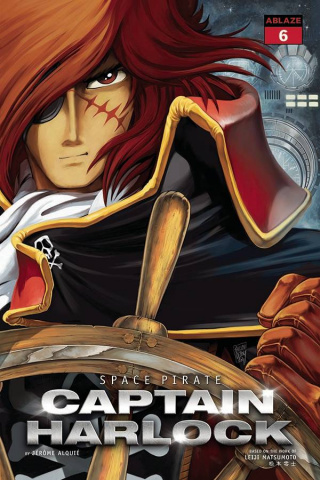 Space Pirate: Captain Harlock #6 (Dessoly Cover)