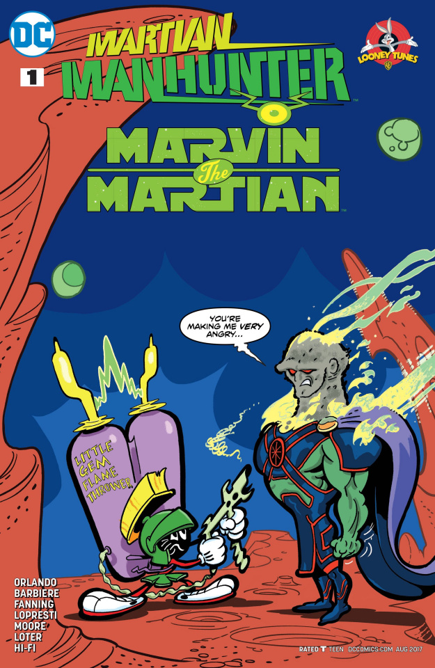 Martian Manhunter / Marvin the Martian Special #1 (Variant Cover)