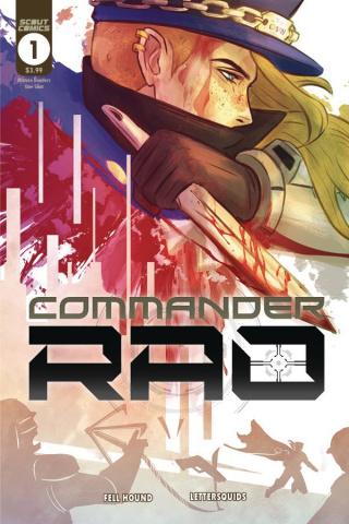Commander Rao #1 (Hound Cover)