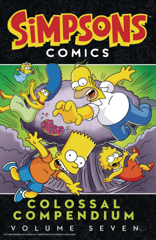 Simpsons Comics: Colossal Compendium Vol. 7