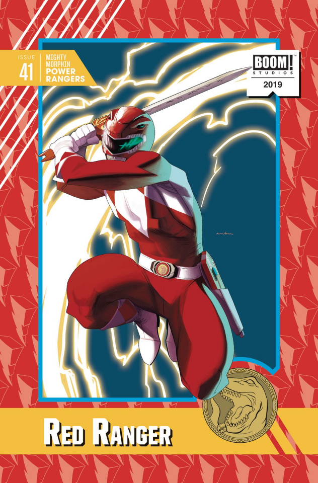 Mighty Morphin' Power Rangers #41 (20 Copy Anka Cover)