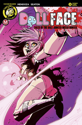 Dollface #5 (Maccagni Pin Up Tattered & Torn Cover)