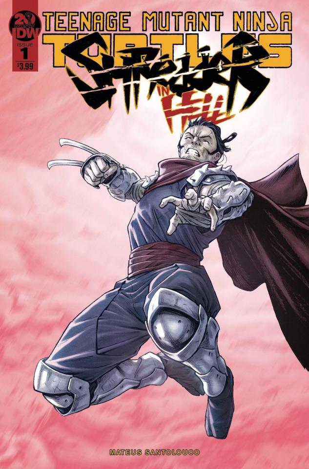 Teenage Mutant Ninja Turtles: Shredder in Hell #1 (2nd Printing)